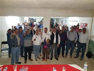 REFRENDAN UNIDAD EXPRESIONES PRIISTAS DE VILLA GARCÍA