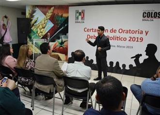 DEFINEN A GANADORES DEL CERTAMEN DE ORATORIA Y DEBATE DEL PRI Y FUNDACIÓN COLOSIO