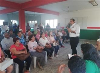 RECONOCE JESÚS VALDÉS UNIDAD Y TRABAJO DE PRIISTAS EN EL MUNICIPIO DE ESCUINAPA