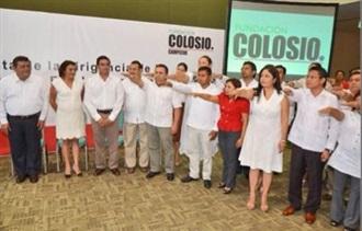 """""""Renuevan dirigencia de la Fundación Colosio en Campeche"""