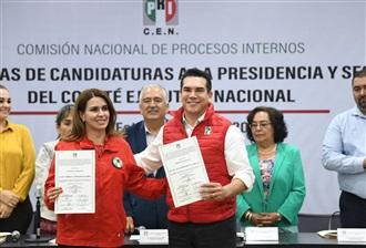 EMITE PRI DICTÁMENES DE PROCEDENCIA Y ENTREGA CONSTANCIAS A CANDIDATOS A DIRIGENCIA NACIONAL