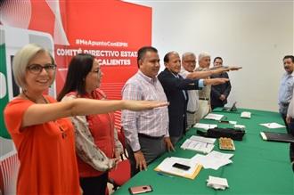 DE MANERA RESPONSABLE, TRANSPARENTE Y DEMOCRÁTICA AGUASCALIENTES PARTICIPA EN LA ELECCIÓN DE LA DIRIGENCIA...