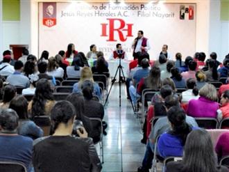 CONVOCA INSTITUTO REYES HEROLES A MILITANTES PRIISTAS A INSCRIBIRSE A LA ESCUELA DE CUADROS