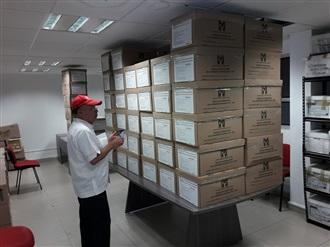 SE RECIBEN EN AGUASCALIENTES LOS 76 PAQUETES ELECTORALES PARA LA ELECCIÓN NACIONAL DEL PRI