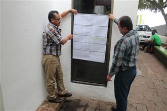 DEFINIDA LA UBICACIÓN DE LAS MESAS RECEPTORAS DEL VOTO PARA ESTE DOMINGO: PRI