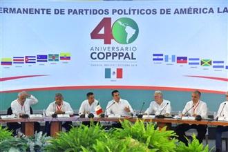 PUGNA ALEJANDRO MORENO PORQUE LA CONFERENCIA PERMANENTE DE PARTIDOS POLÍTICOS DE AMÉRICA LATINA Y EL CARIB...