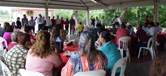 CONTINÚA JESÚS VALDÉS CON EL PROGRAMA DE AFILIACIÓN Y REFRENDO EN SALVADOR ALVARADO