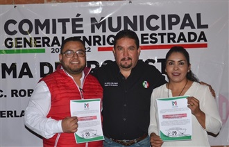 RENUEVAN COMITÉ MUNICIPAL PRIISTA DE ENRIQUE ESTRADA