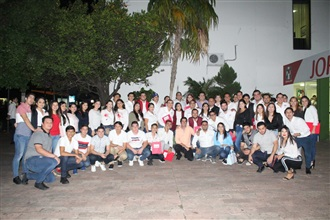 TOMA DE PROTESTA LA ESTRUCTURA DE LA RED JOVENES X MÉXICO CULIACÁN