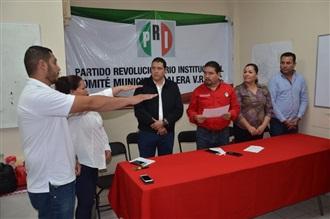 TOMAN PROTESTA DIRIGENTES MUNICIPALES PRIISTAS DE CALERA Y MORELOS
