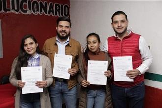 TOMAN PROTESTA DIRIGENTES PRIISTAS DE LA UR Y EJR EN TRANCOSO