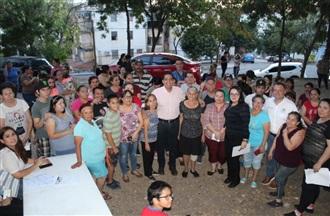 CONTINÚA JESÚS VALDÉS CON LA TOMA DE PROTESTA SECCIONALES EN CULIACÁN.