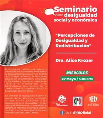 OFRECE PRI SEMINARIO SOBRE DESIGUALDAD SOCIAL Y ECONÓMICA