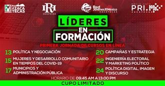 PRI ZACATECAS OFRECERÁ JORNADA DE CURSOS EN LÍNEA