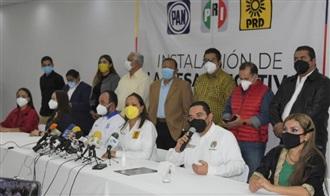 PAN, PRI Y PRD INICIAN TRABAJOS DE ALIANZA TOTAL EN NAYARIT RUMBO AL 2021