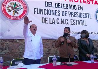 LORENZO CHÁVEZ ASUMIÓ DIRIGENCIA ESTATAL DE LA CNC