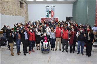 TOMA PROTESTA DIRIGENCIA DEL CDM DEL PRI EN GUADALUPE
