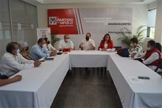 """EL PRI AGUASCALIENTES TRABAJA CON UN SOLO OBJETIVO: """"UNIDAD, UNIDAD Y TRIUNFO ELECTORAL EL PRÓXIMO 06 DE J..."""
