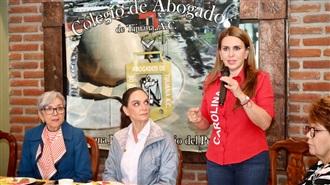 MORENA BUSCA ACABAR CON EL ESTADO DE DERECHO, PONIENDO EN SERIO RIESGO LA DEMOCRACIA DEL PAÍS: CAROLINA VI...