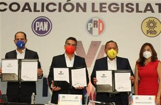 COALICIÓN LEGISLATIVA REFRENDA NUESTRO COMPROMISO POR MÉXICO: ALEJANDRO MORENO