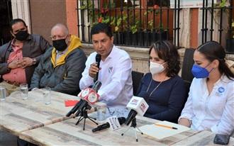 CELEBRA ENRIQUE FLORES ADHESIÓN DE LA CANDIDATA CELIA MONTES AL PROYECTO DE  CLAUDIA ANAYA