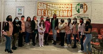 ARRANCA EL CICLO 2021 DE TALLERES Y CAPACITACIONES PARA MUJERES POLÍTICAS PRIISTAS QUE FORMAN PARTE DEL ONMPRI
