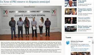 EN XOXO EL PRI RENUEVA SU DIRIGENCIA MUNICIPAL