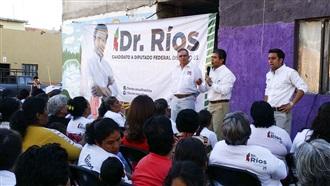 SEREMOS EL PRIMER DISTRITO QUE PROMOCIONE LA SALUD: DR. RÍOS