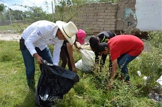 LA RED DE JÓVENES POR MÉXICO REALIZA LIMPIEZA DE ZONAS NATURALES EN AGUASCALIENTES PARA CONTRIBUIR CON EL ... width=