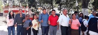 PRIISTAS VAN EN UNIDAD A CONSULTA NACIONAL POR DESARROLLO DEL ESTADO CON EL TREN TRANSÍSTMICO width=