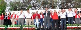 ENTRE PRIISTAS DE CARNE Y HUESO, LA PRESIDENTA NACIONAL DEL PRI OFRECE APERTURA, INCLUSIÓN Y TRIUNFOS ELEC... width=