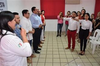Toman protesta al Movimiento PRI.mx en el municipio de Guasave width=