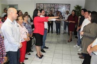 Tiene PRI Culiacán nueva secretaria general y secretario de acción electoral width=