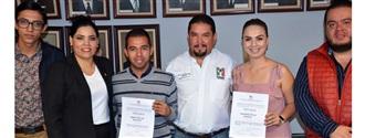 ENTREGAN CONSTANCIA DE MAYORÍA A LA DIRIGENCIA ELECTA DE LA RED JÓVENES X MÉXICO width=