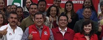 OCTAVIO RAMÍREZ GALLEGOS RINDE PROTESTA COMO COORDINADOR ESTATAL DE LOS REGIDORES PRIISTAS DE AGUASCALIENTES width=