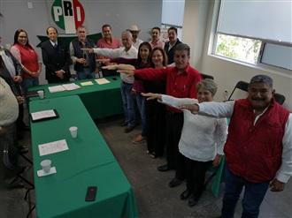 RINDEN PROTESTA ASIENTOS, JESÚS MARÍA Y SAN JOSÉ DE GRACIA, 3 NUEVAS DIRIGENCIAS PRIISTAS DE COMITÉS MUNIC... width=