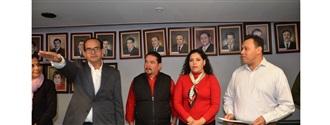 TOMA PROTESTA ALAN MURILLO COMO COORDINADOR DE ALCALDES PRIISTAS EN ZACATECAS width=