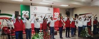 EL PRI ENTREGA CONSTANCIAS DE CANDIDATURAS A PRESIDENCIAS MUNICIPALES Y DIPUTACIONES LOCALES width=