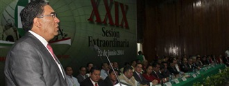 Mauricio López garantizó capacidad y transparencia y presentó un decálogo, como proyecto y estrategia para... width=