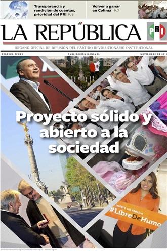 NOVIEMBRE/ 2015 / TERCERA ÉPOCA /PROYECTO SÓLIDO Y ABIERTO A LA SOCIEDAD