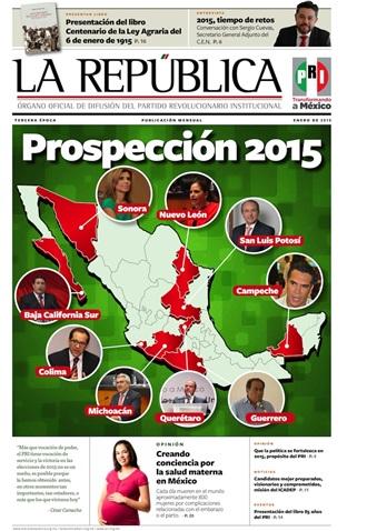 ENERO/ 2015 / TERCERA ÉPOCA / PROSPECCIÓN 2015