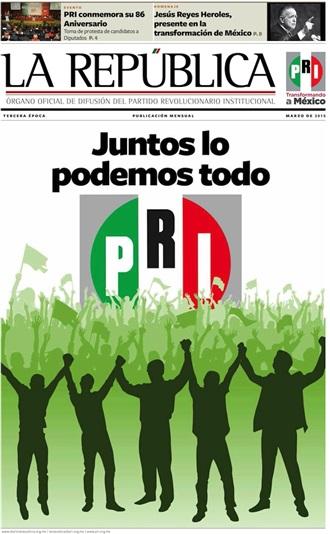 MARZO/ 2015 / TERCERA ÉPOCA / JUNTOS LO PODEMOS TODO
