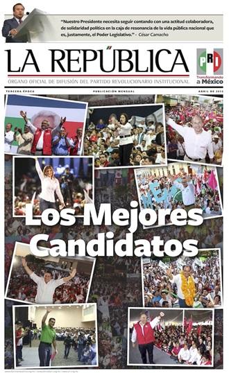 ABRIL/ 2015 / TERCERA ÉPOCA / LOS MEJORES CANDIDATOS