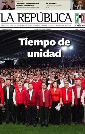 JULIO/ 2015 / TERCERA ÉPOCA / TIEMPO DE UNIDAD
