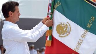 COBRAN FUERZA EN NUESTRA BANDERA VALORES Y ASPIRACIONES DE MILLONES DE MEXICANOS: EPN